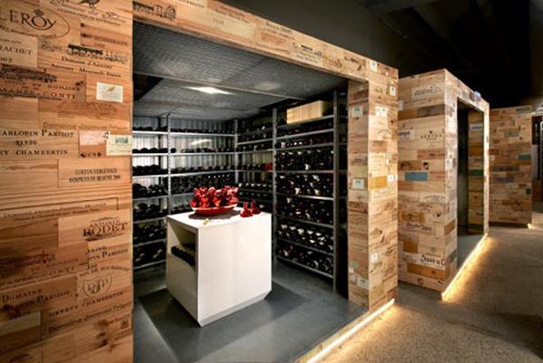c mo almacenar los vinos ideas de dise o sorprendentes decoracion de dormitorios. Black Bedroom Furniture Sets. Home Design Ideas