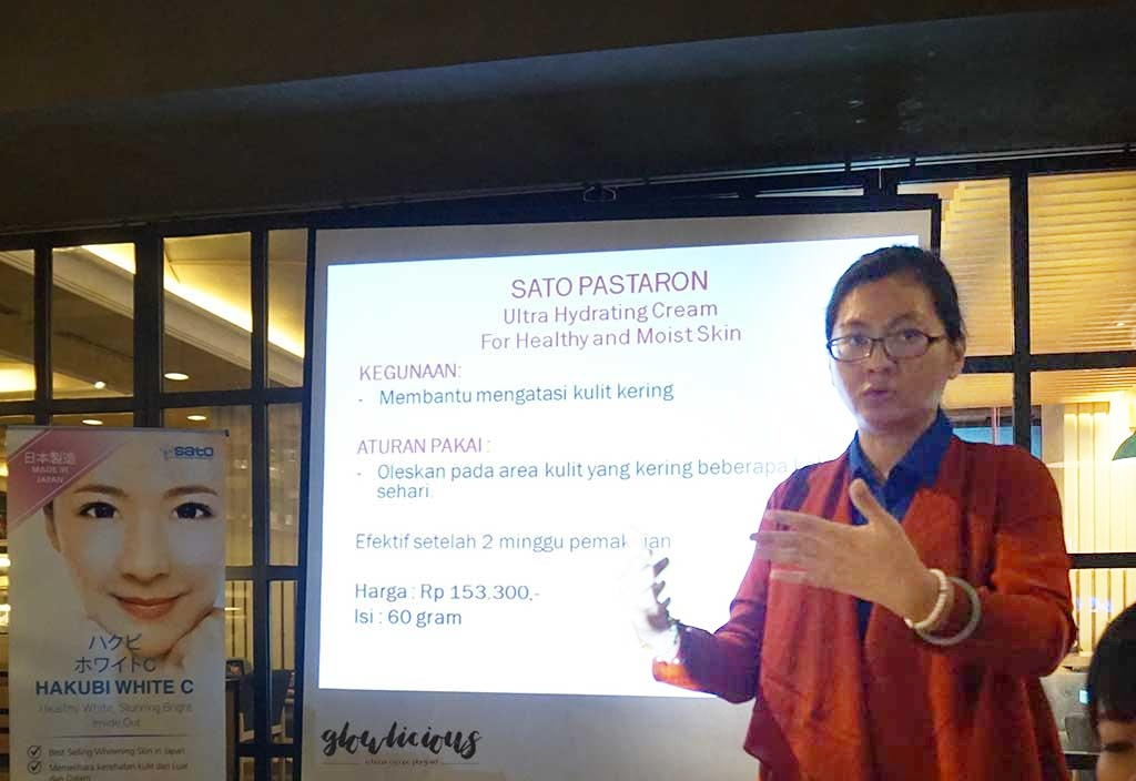 Ibu Yosi Product Manager Hakubi Gathering Indonesia - Excelso Grand Indonesia