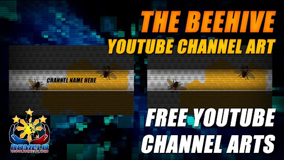 Free YouTube Channel Art ★ The Beehive