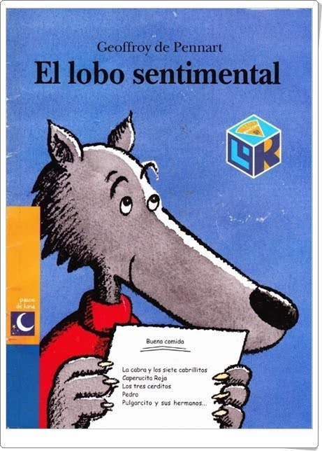 """El lobo sentimental"" de Geoffroy de Pennart (Cuentos en Power Point)"