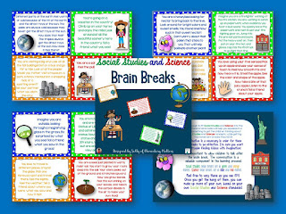 Science and Social Studies Brain Breaks