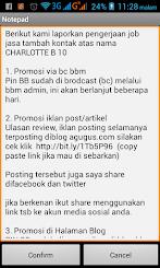 Jasa Tambah Kontak BBM agugus.com Murah hanya 50 ribu rupiah