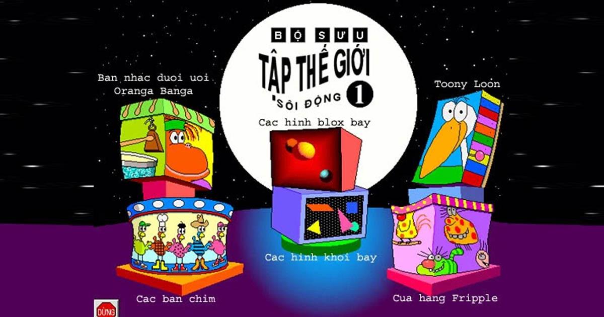 phần mềm bộ trò chơi kidsmart vietnam