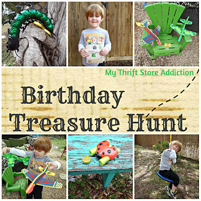 birthday treasure hunt