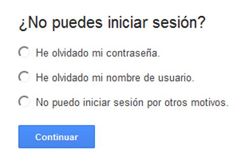 recuperar cuenta gmail recuperar clave gmail
