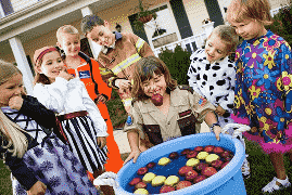 Bobbing for Apples Halloween