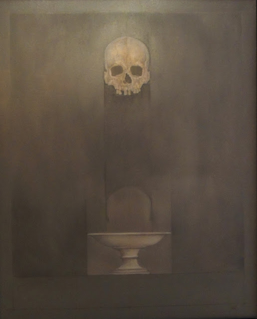 Carles Planell pintura vanguardista contemporánea calavera