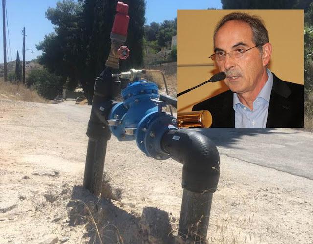 Σαμποτάζ σε κεντρικό αγωγό ύδρευσης καταγγέλλει ο Δήμαρχος Ερμιονίδας Δ. Σφυρής