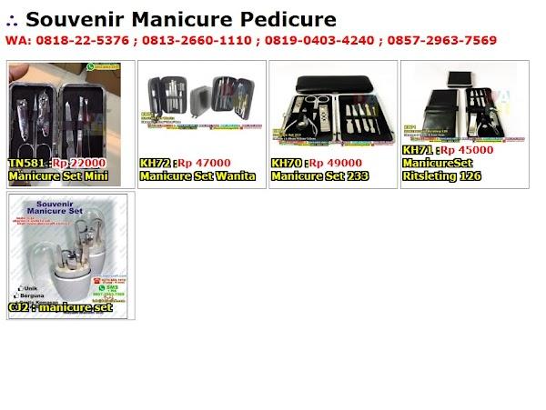 Daftar Harga Souvenir Manicure