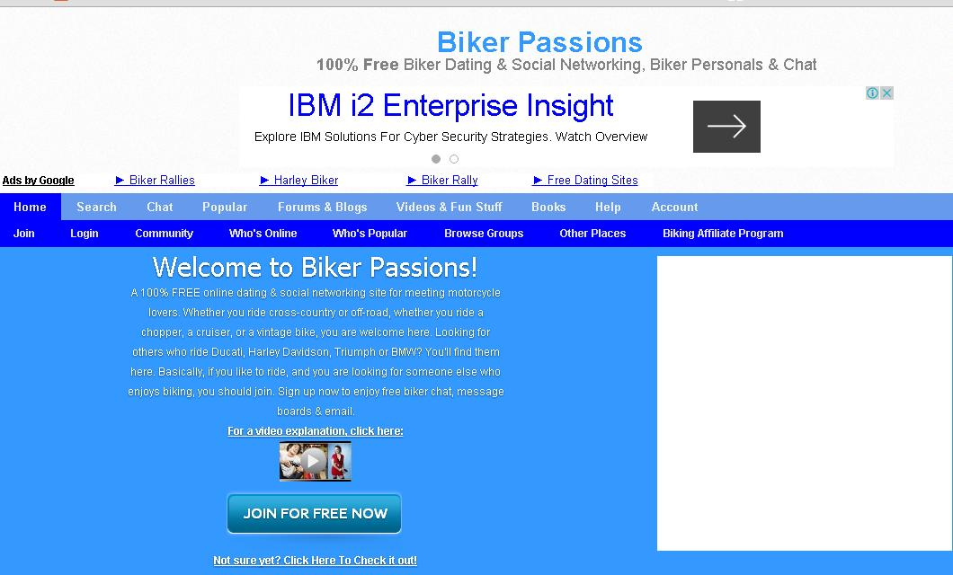 Free biker dating network