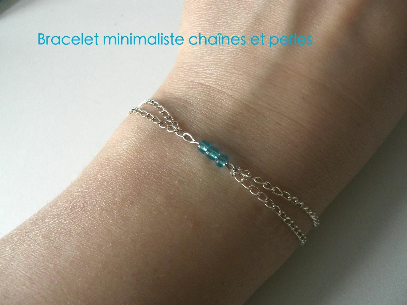 gabulle in wonderland bracelet minimaliste cha nes et perles. Black Bedroom Furniture Sets. Home Design Ideas