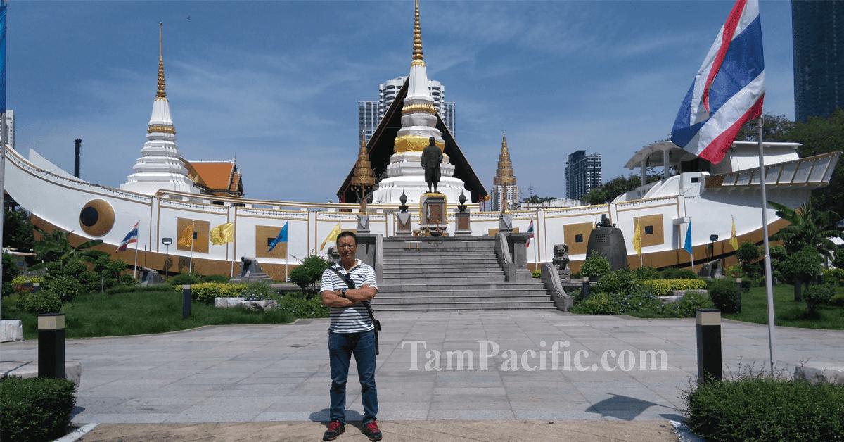 Đổi tiền Thái ở đâu để thỉnh xá lợi ở Thái Lan ngay tại chùa Xá Lợi Thái Lan