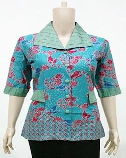 Contoh Model Baju Batik Buat Guru