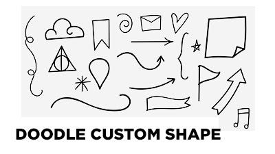 doodle custom shape