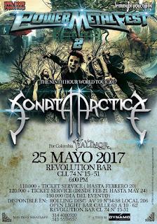 FESTIVAL POWER METAL FEST 2 Bogota 1