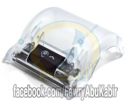 Paper cover with roller for VeriFone Vx520  باب البكر مع بكرة اللف لمكن فريفون 520