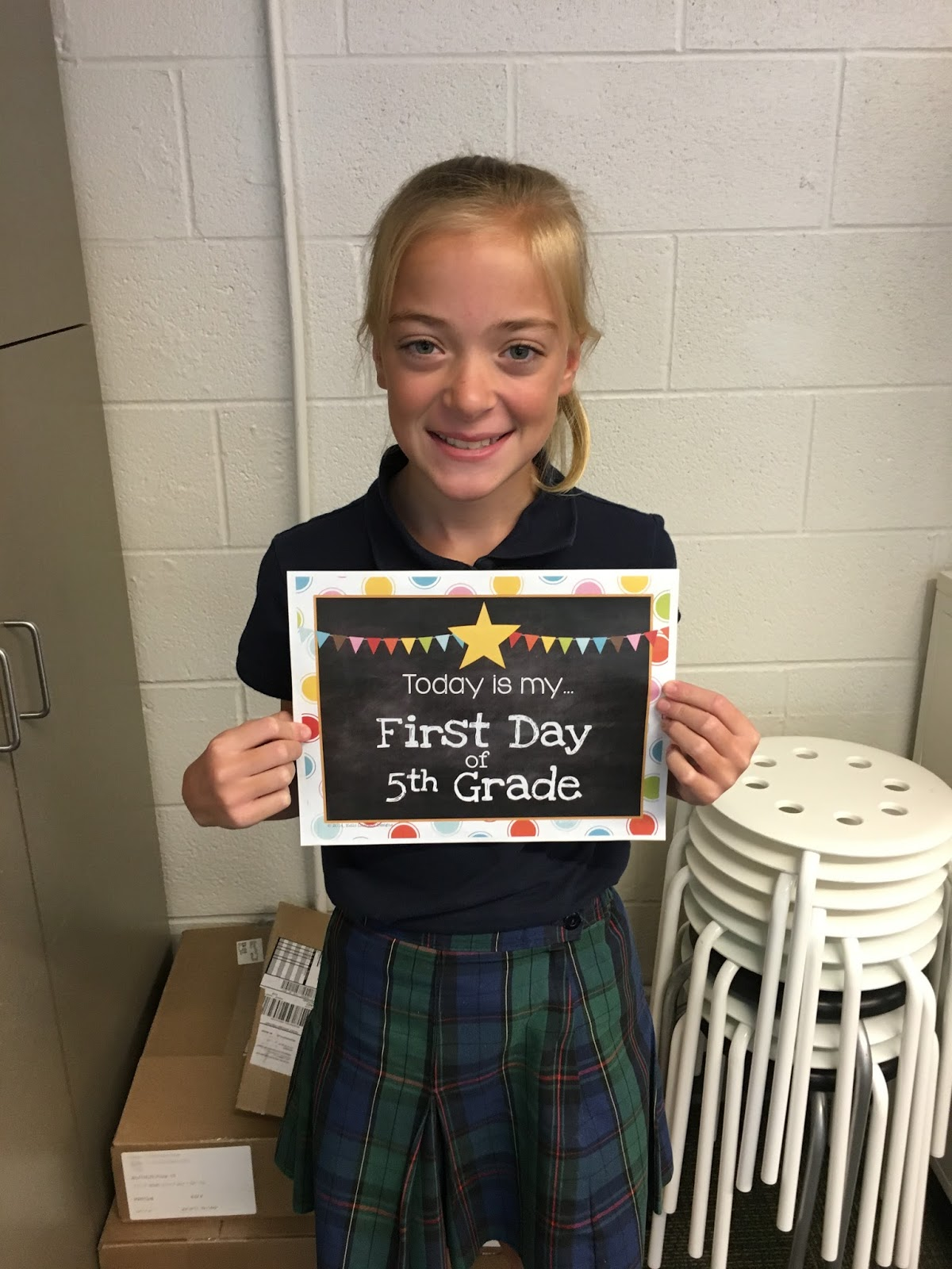 5th Grade Geography: Mrs. Florey's Class Blog: First Day Of 5th Grade