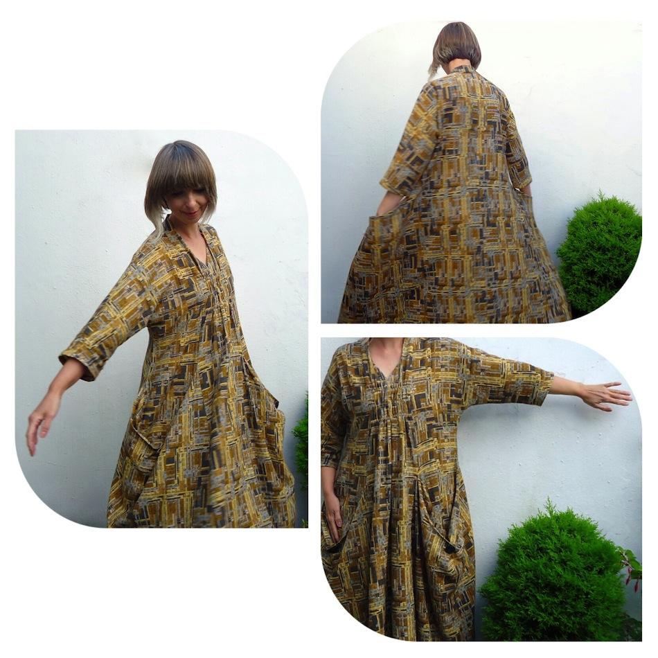 Ivy Arch Avant Garde House Dress Marcy Tilton Vogue 8813