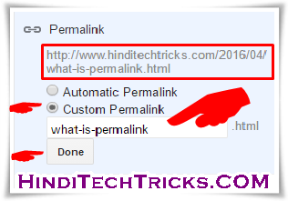 How-To-Write-SEO-Friendly-Permalink-For-Blog-Posts-In-Hindi
