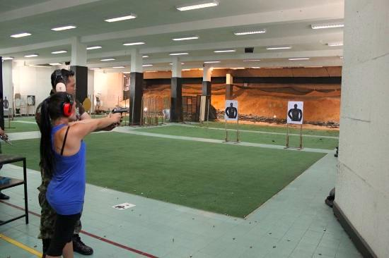 Bangkok Shooting Range offers visitors a firsthand experience with firearms