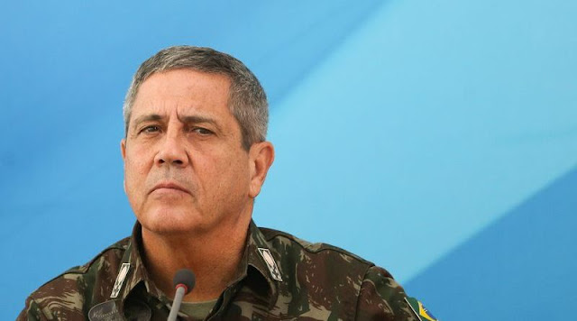 Image Attribute: The File Photo of General Walter Souza Braga Netto, Federal Comptroller (Interventor Federal) for Public Security of Rio de Janeiro State.
