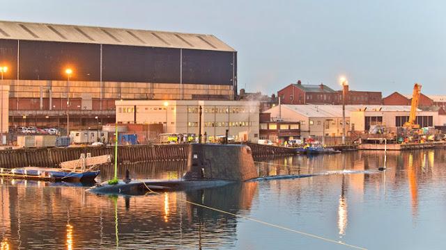 Royal Navy: Cuarto submarino de la clase Astute completa la primera inmersión