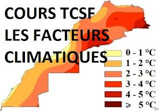 COURS FACTEURS CLIMATIQUES