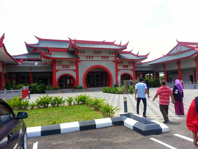 Masjid Cina Melaka; 24th August 2014