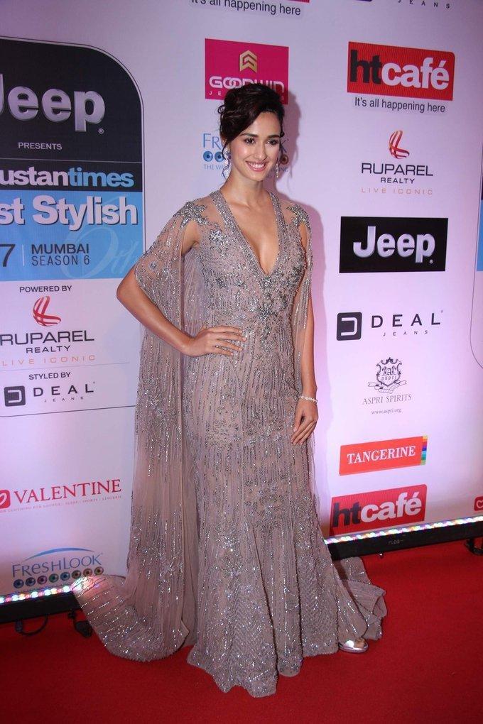 Indian Actress Disha Patani At HT Most Stylish Awards 2017