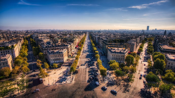 Wallpaper: Champs Elysees