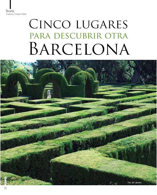 Parc del Laberint Barcelona