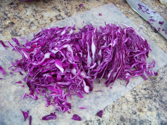 Red Cabbage, sliced