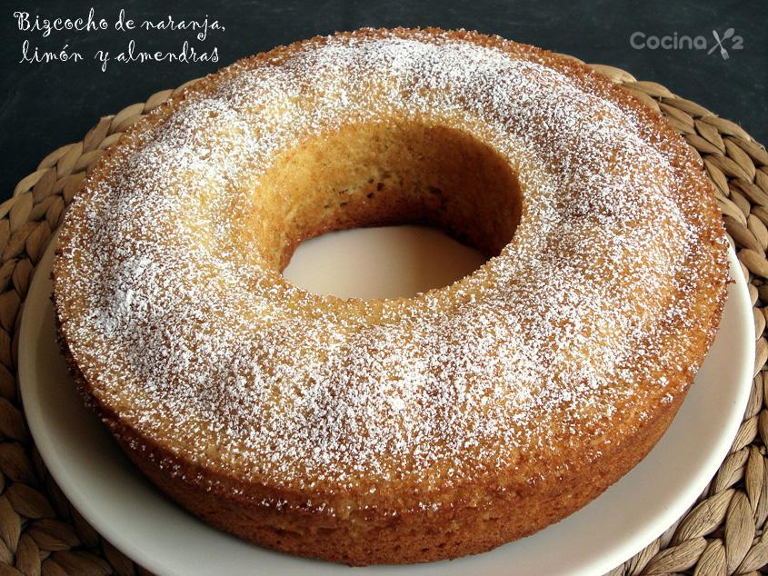 Cocinax2 las recetas de laurita bizcocho de naranja for Bizcocho de yogur y almendra