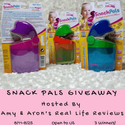 Enter the Snack Pals Giveaway. Ends 8/25