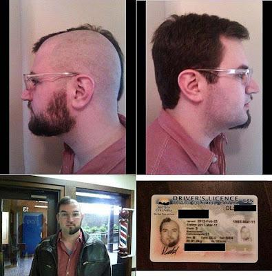 Extrem lustige Menschen - komisches Aussehen und Haare