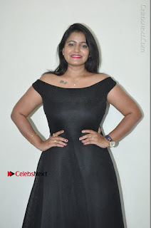 Telugu Actress Swathi Reddy Latest Stills in Black Gown  0051.JPG