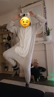 Pijama Cosplay Fantasia de Coala (Koala) para Adultos