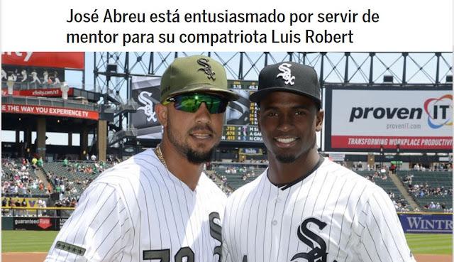 Luis Robert, destacada promesa cubana de 19 años se unió oficialmente a los White Sox el sábado gracias a un contrato de ligas menores que incluye un bono de US$26 millones por firmar.