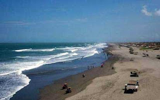Pantai Parangtritis di Yogyakarta