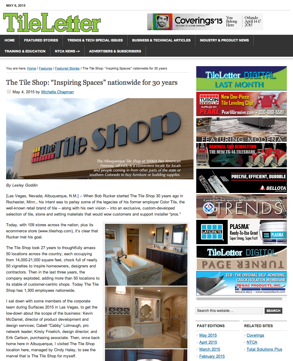 the tile shop design by kirsty a shout out to the tile shop in the tileletter magazine