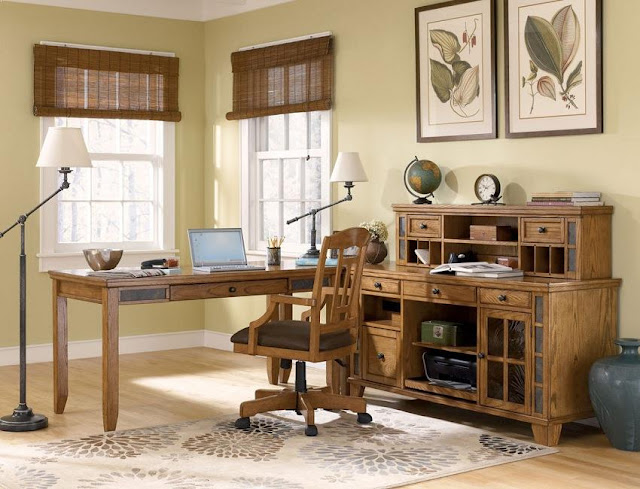 best buy rustic pine office desk l shaped and chair for sale