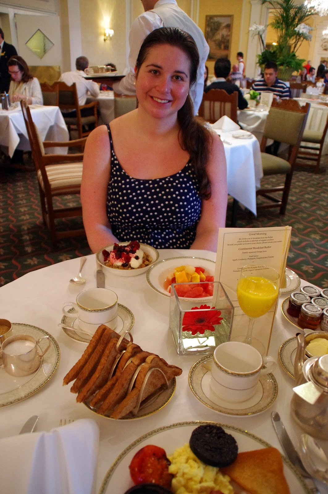 The Grand Hotel Eastbourne Breakfast