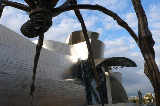 The Guggenheim Museum of Modern and Contemporary Art in Bilbao, Spain