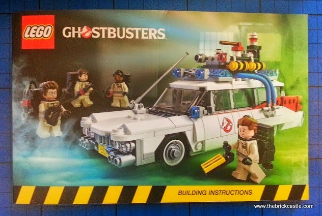 The LEGO Ghostbusters Ecto-1 Car and Minifigures set 21108 Book