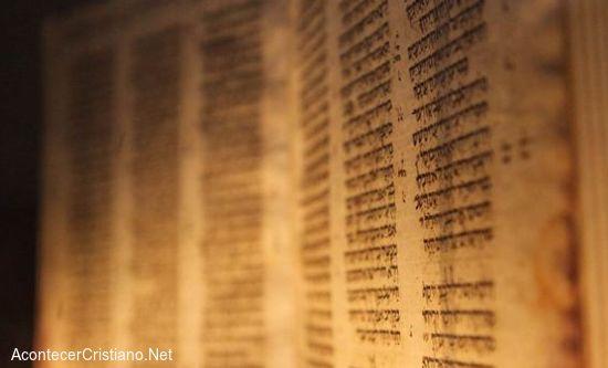 Manuscrito antiguo tesoro de la humanidad