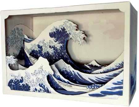 立版古で名画の世界を立体的に再現!江戸時代からある3D作品【i】