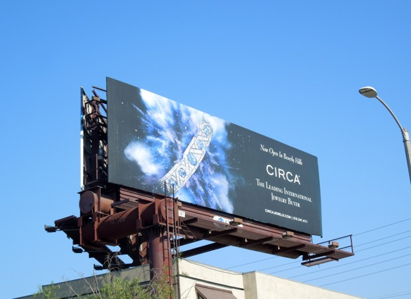 Circa jewelry billboard