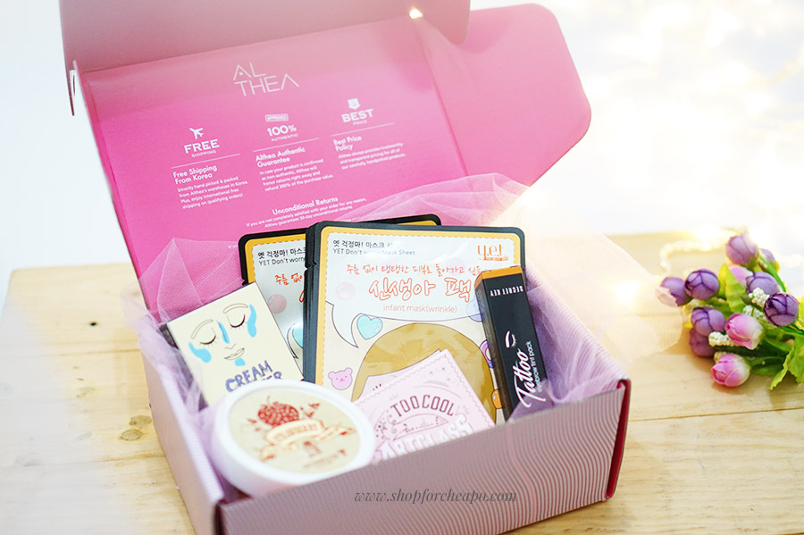 althea 2nd birthday box