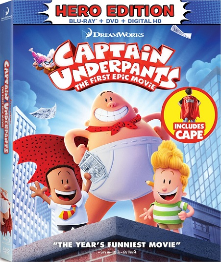 Captain Underpants: The First Epic Movie (Las Aventuras de Capitán Calzoncillos) (2017) 720p y 1080p BDRip mkv Dual Audio AC3 5.1 ch