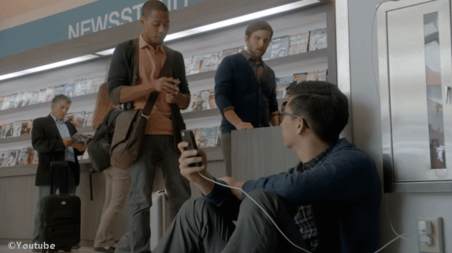 Samsung Called Iphone Users 'Wall Huggers' in their S5 Commercial